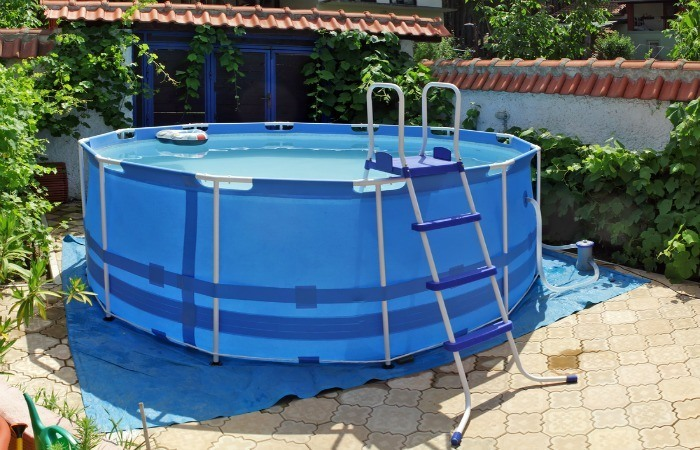 Buying an above ground pool tips for Above ground pool setup ideas