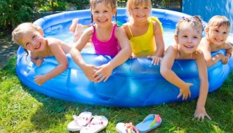 Best Blow Up Swimming Pool for Children