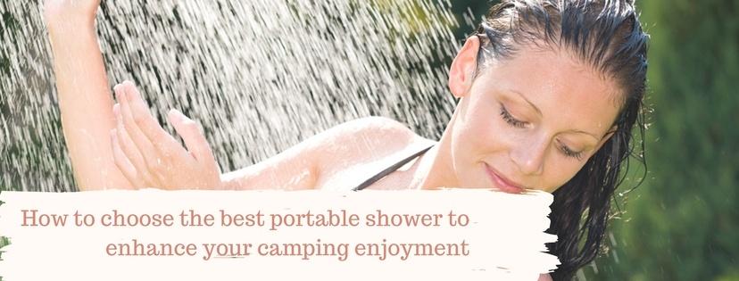 best portable shower
