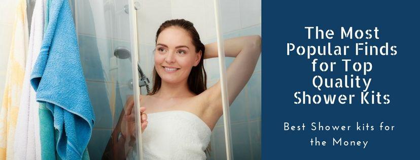 best shower kits