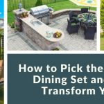 How to Pick the Best Outdoor Dining Set and Magically Transform Your Patio: 12 Product Reviews